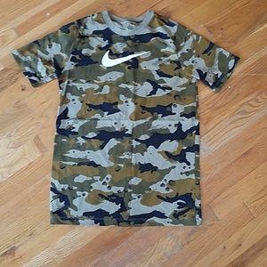 Nike Camo Tee Shirt